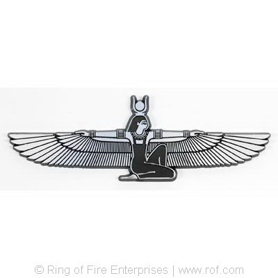 Isis Car Emblem isis, goddess, egyptian,car emblem,car sticker,car badge, badge