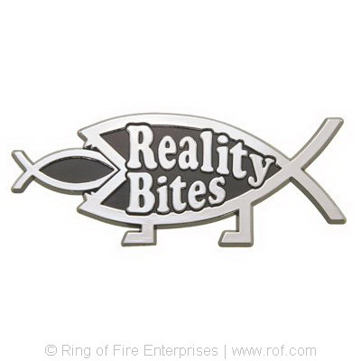 Reality Bites Car Emblem reality bites, car badge, badge