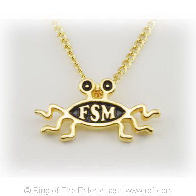 Shapely Flying Spaghetti Monster Necklace/Pendant Bobby Henderson,pirate,fsm,flying spaghetti monster,pastafarian,pastafarianism