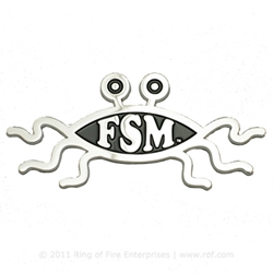 Flying Spaghetti Monster Car Emblem fsm,flying spaghetti monster, car emblem, car plaque, car badge, Bobby Henderson,